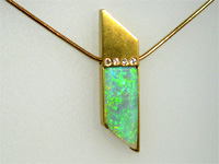 Contemporary Jewellery | Opal | Cheshire